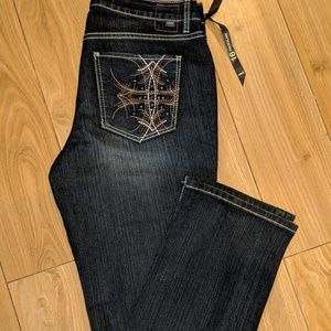 Jag Jeans Priscilla Straight Galway sz 16 NWT NEE